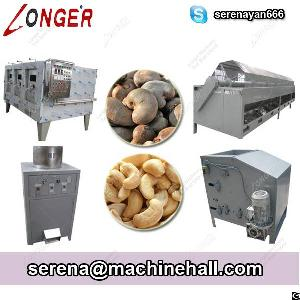cashew nut processing machine line shelling peeling