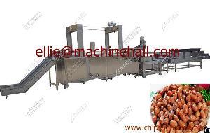 Peanut Frying Machine Fried Food Fryer Machine