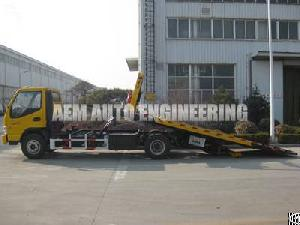 car carrier flatbed wrecker tow truck