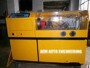 pressure rail injector pump test bench