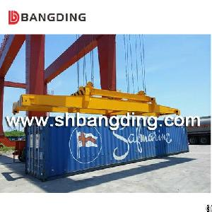 Bangding 20 40 Feet Semi-automatic Container Spreader / I Type Mechanical Container Lifter