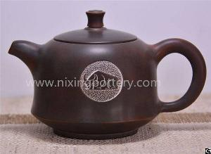 porcelain cow tea pot qinzhou handicrafted teapots
