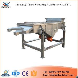 China Sand Xxnx Efficiency Linear Vibrating Screen And Automatic Linear Vibratory Sifter For Grading