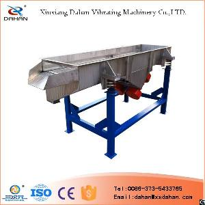 food grade vibro sieve straight line sifting equipment stainless steel
