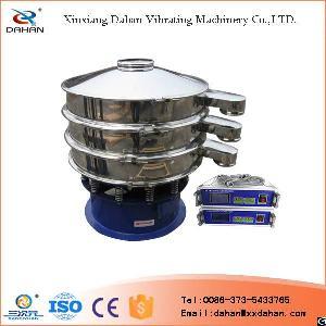 stainless steel ultrasonic vibrating sieve grading powder