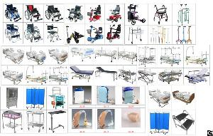 poly wheelchair factory scooter commode walking aids hospital bed furnt