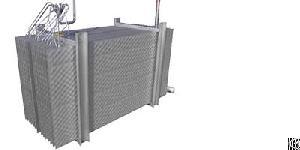 efficent laser welding embossed pillow plate condenser power generation