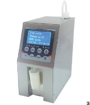 ultrasonic milk analyzer master lite