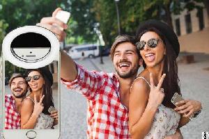 picture smart phone led light selfie lamp