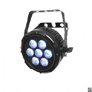 Led Slim Par Light 7x10w Rgbw 4-in-1