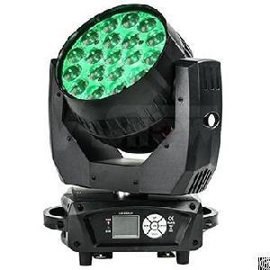 mac aura 19x15w rgbw 4in1 led moving beam wash zoom light backlight