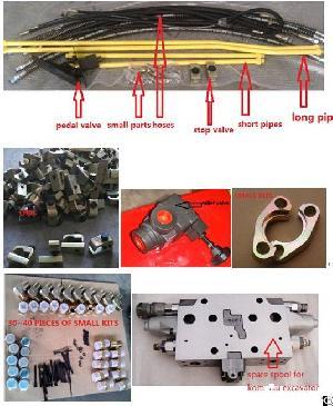 Excavator Installation Circuit Piping Kits Hammer Lines For Komatsu Hitachi Kobelco Caterpillar Kato