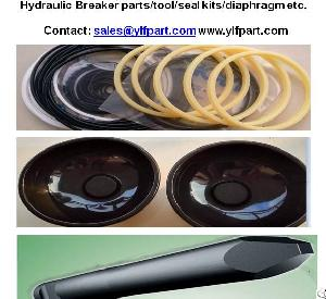 rammer sandvik hydraulic breaker hammer replacement chisel seal kits diaphragm