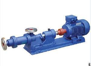 1-1b Series Single-screw Underflow Pump Slurry Pump
