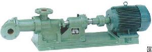 G Series Single Screw Pump For Waste Liquids With High Viscosity / Stainless Steel Food Pump