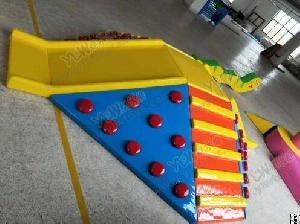 kids soft play children education software indoor playground toys climbing slide