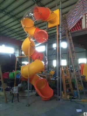Outdoor Playground Replace The Accessories, Plastic Slide Accessories, Amusement Tube Slide