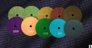 five step wet granite diamond polishing pads