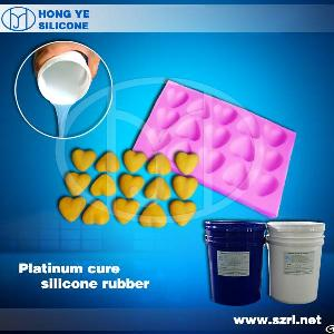 Hy Liquid Food Grade Platinum Cure Silicone Rubber For Food Mold Manufacturing