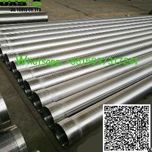 seamless 316l stainless steel casing pipe drilling