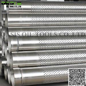 Stainless Steel 316l Perforated Casing Pipe Slot Pipe For Well Drilling