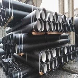 iso 2531 1998 k9 ductile iron pipe 6meters