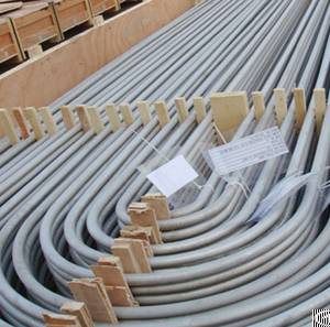 stainless steel u tube astm a213 tp321