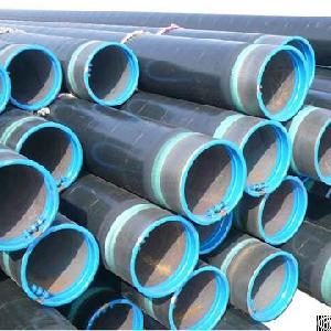 layer polyethylene coated steel pipe