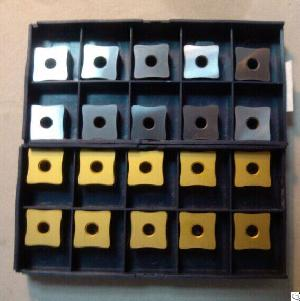 Full Line Of Carbide Inserts For Tube Scarfing