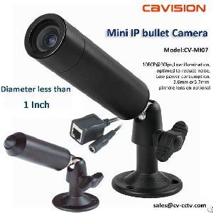 miniature hd ip bullet camera