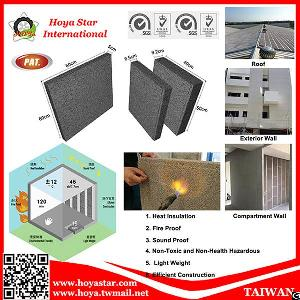 Lightweight Energy-saving Insulation Fire Proof Soundproof Non-toxic Building Brick Block