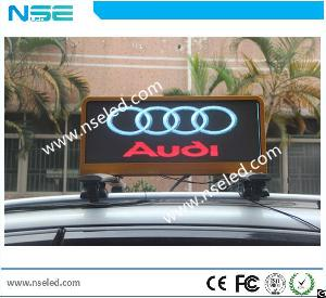 taxi led display screen