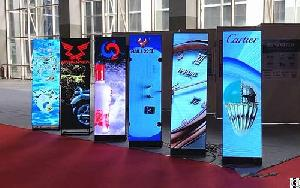 Ultra Slim And Light Weight �design Fast Move Led Poster For Exhibition Display