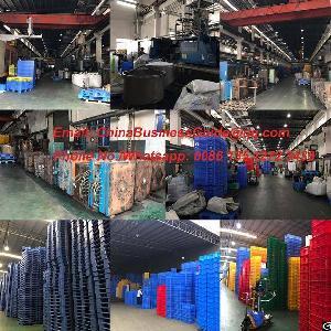 guangzhou plastic box foshan pallet manufacturers visiting tour