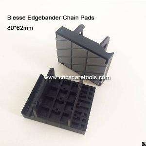 80x62mm Conveyor Chain Track Pads For Biesse Edgebanding Edge Bander Edgebander Machine