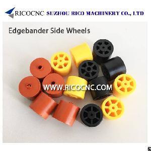 edgebander side roller beam wheels edgebanding machines