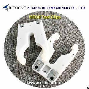 iso30 tool holder clips woodworking cnc router