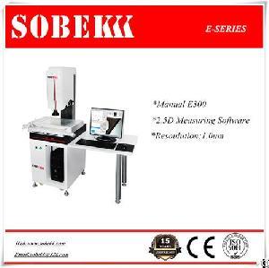 sobek e manual video measuring machine