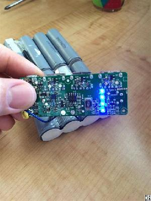 Perma Battery Pack Customized Of Lg 18650 And Protection Pcb With Led Power Indicators
