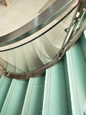 bend glass supplier laminated curved 13 52mm