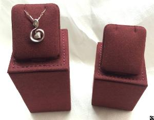 Pendant Display Stand With Microfiber Stitching