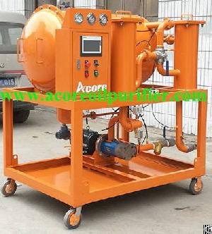 Vacuum Dehydration Oil Purification System Manufacturer