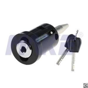 powder coating vehicle lock