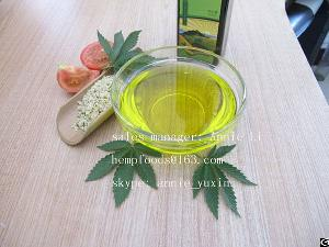 Certified Organic Hulled Hemp Oil
