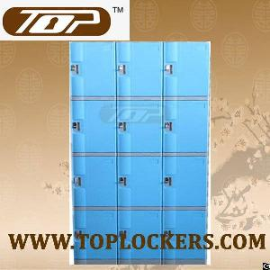 Engineering Abs Four Tier Plastic Cabinet, Multiple Locking Options