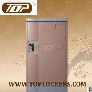 triple tier plastic factory locker smart lockset