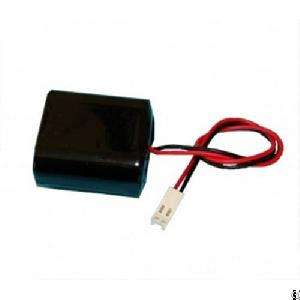 Perma Battery Lithium 6v Automatic Flusher Battery With Pvc Sleeve And Connector