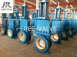 Ceramic Slurry Gate Valve