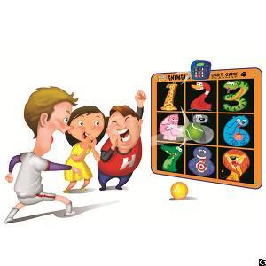 zippy mat animal dart game playmat kids electronic play