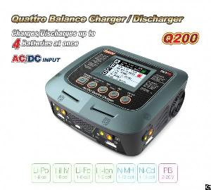 skyrc quattro q200 ac dc balance charger discharger